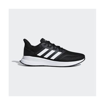(adidas/アディダス)アディダス/メンズ/ファルコンラン / FALCONRUN M/メンズ コアブラック/フットウェアホワイト/コアブラック