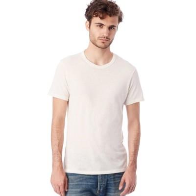 Alternative Apparel/オルタナテ ィブアパレル Eco-Jersey Crew T-Shirt クルーネックT アイボリー