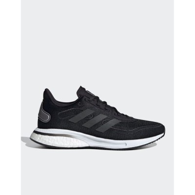 アディダス レディース スニーカー シューズ adidas Running Supernova sneakers in black Black