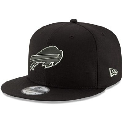 ニューエラ メンズ 帽子 アクセサリー Buffalo Bills New Era BDub 9FIFTY Adjustable Hat Black