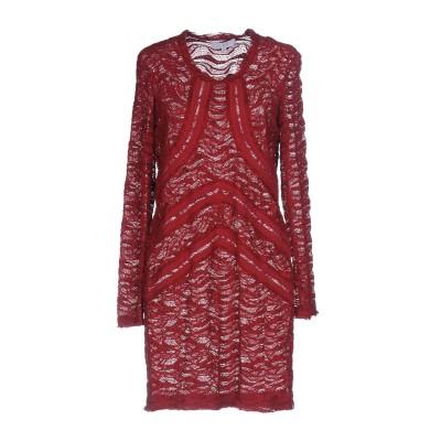 イロ IRO ミニワンピース&ドレス ガーネット 36 70% コットン 20% ナイロン 10% ポリウレタン ミニワンピース&ドレス