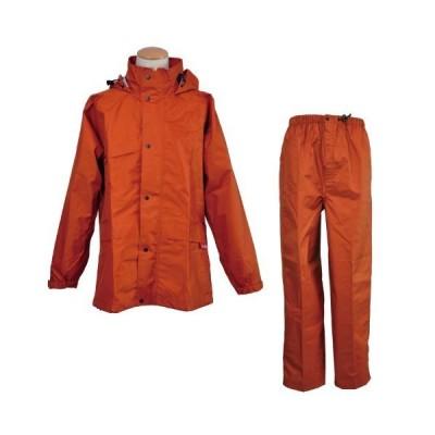 コヤナギ 透湿防水 エントラント レインウェア ニューグランドスラムレイン #8200 オレンジ 4L