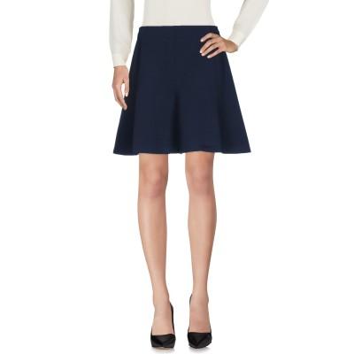 SANDRO ひざ丈スカート ダークブルー 3 ポリエステル 76% / ポリウレタン 16% / ポリウレタン 8% ひざ丈スカート