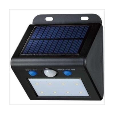 ELPA(エルパ) 屋外用 LEDセンサーウォールライト ソーラー発電式 白色 ESL-K101SL(W) (APIs)