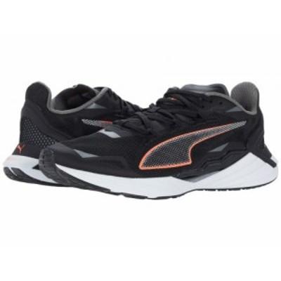 PUMA プーマ レディース 女性用 シューズ 靴 スニーカー 運動靴 UltraRide Puma Black/Lava Blast/Puma Silver【送料無料】
