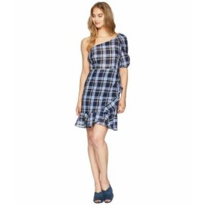 Donna Morgan ドナモーガン ドレス 一般 One Shoulder Gingham Mini Dress