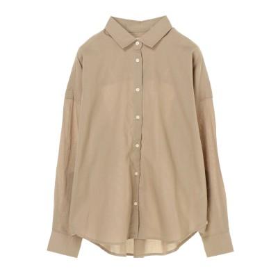 iroiroコットン2WAYシャツ