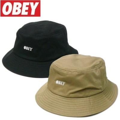 OBEY (オベイ) MONOGANG BUCKET HATS バケットハット サハリハット