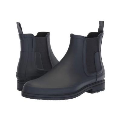 ハンター メンズ ブーツ・レインブーツ シューズ Original Refined Dark Sole Chelsea Boots