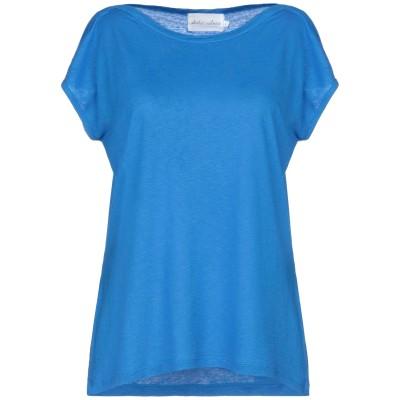 ABSOLUT CASHMERE T シャツ ブルー XS リネン 100% T シャツ