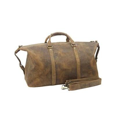 Leather Duffle Travel Holdall 並行輸入品