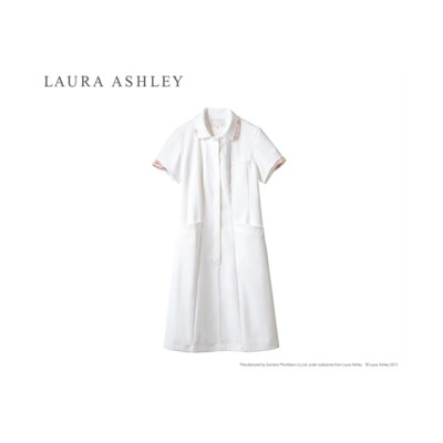 LAURA ASHLEY LW403 ナースワンピース(半袖)(女性用) ナースウェア・白衣・介護ウェア