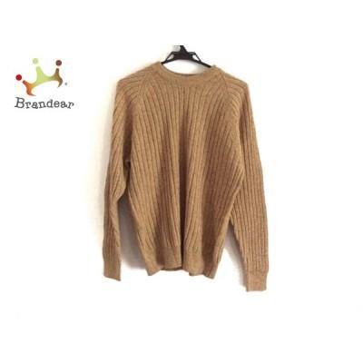 ダンヒル dunhill/ALFREDDUNHILL 長袖セーター サイズS メンズ ライトブラウン×マルチ 新着 20200619
