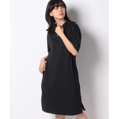 (Schoffel/ショッフェル)【WOMEN】HALFSLEEVE JERSEY DRESS WOMEN/レディース ブラック