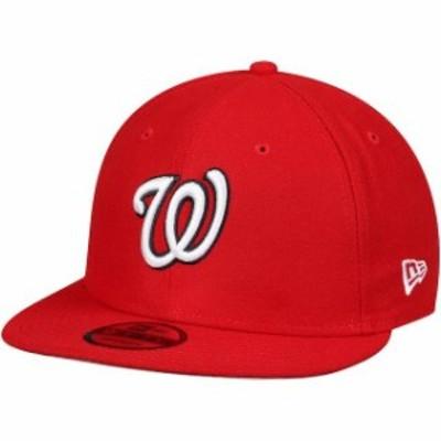 New Era ニュー エラ 帽子 キャップ New Era Washington Nationals Red Team Color 9FIFTY Adjustable Hat