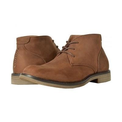 Nunn Bush ナンブッシュ メンズ 男性用 シューズ 靴 ブーツ チャッカブーツ Lancaster Plain Toe Chukka Boot - Brown Leather