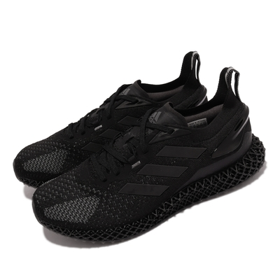 adidas 慢跑鞋 X90004D 運動 男鞋 愛迪達 網格狀中底 避震 路跑 黑 灰 FW7090