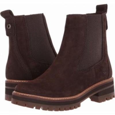 ティンバーランド Timberland レディース シューズ・靴 Courmayeur Valley Chelsea Dark Brown Nubuck