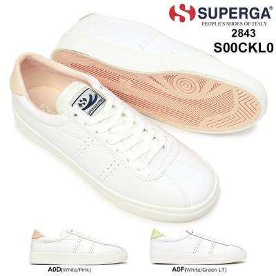スペルガ スニーカー レディース 2843 S00CKL0 CLUBS COMFLEAU レザー シンプル スポーツ