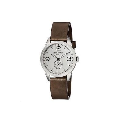 腕時計 ゼノ Zeno メンズ 4772Q-A3-1 ビンテージ Line アナログ ディスプレイ スイス クォーツ ブラウン 腕時計