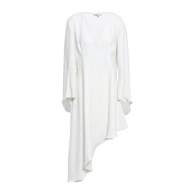 イロ IRO ミニワンピース&ドレス ホワイト 42 ポリエステル 100% ミニワンピース&ドレス