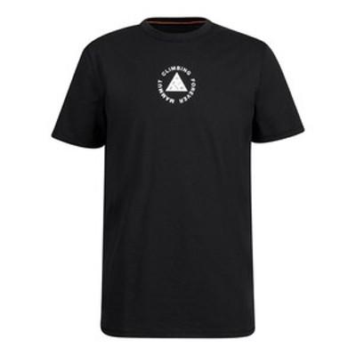マムート アウトドアシャツ 【21春夏】Massone T-Shirt Men's  M  00254(black PRT2)