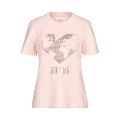 アルベルタ フェレッティ ALBERTA FERRETTI T シャツ ライトピンク XS コットン 100% T シャツ