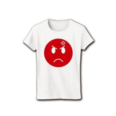 怒れよニッポン リブクルーネックTシャツ(ホワイト)