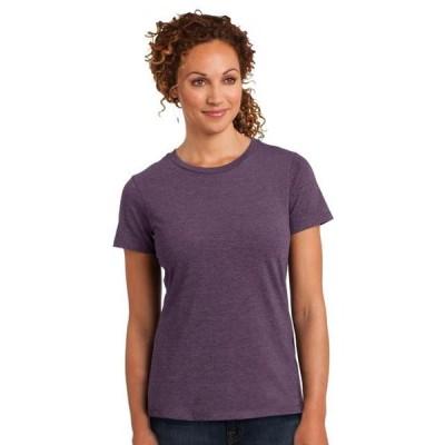 レディース 衣類 トップス District Made Women's Perfect Blend Comfortable T Shirt Tシャツ