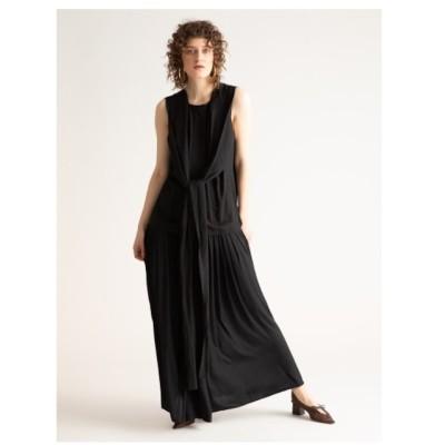 【スタイリング/styling/】 ギャザードッキングドレス