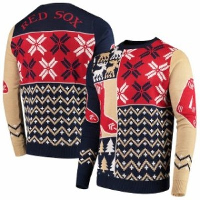 Forever Collectibles フォーエバー コレクティブル スポーツ用品  Boston Red Sox Navy Retro Sweater