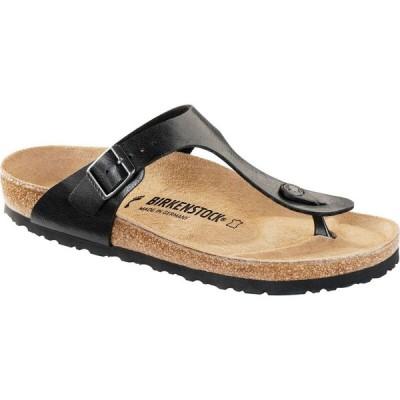 ビルケンシュトック Birkenstock レディース サンダル・ミュール シューズ・靴 Gizeh Sandal Licorice Birko Flor