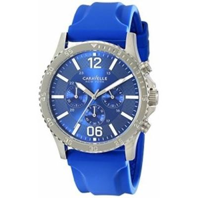 (キャラベル ニューヨーク) Caravelle New York Logan 43A117 Mens Watch メンズ 腕時計【並行輸入品】