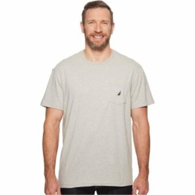 ノーティカ Nautica Big and Tall メンズ Tシャツ 大きいサイズ ポケット トップス Big and Tall Short Sleeve Anchor Pocket Tee Grey H