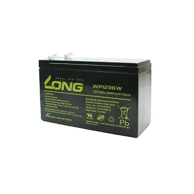 LONG サイクルバッテリー WP1236W(産業用鉛蓄電池)■WP8-12  12SN7.5  NP7-12  PE12V7.2  HP6.5-12
