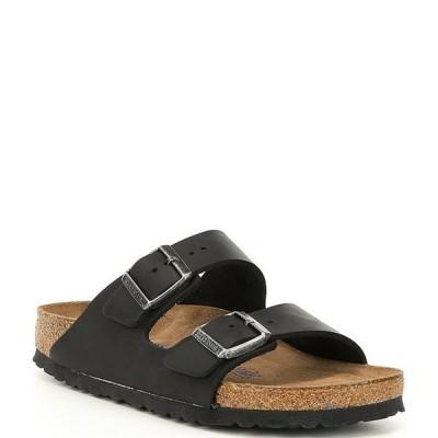 ビルケンシュトック レディース サンダル シューズ Women's Arizona Oiled Leather Soft Footbed Sandals