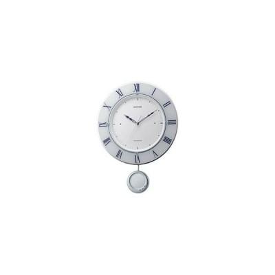 リズム時計 8MX402SR03 トライメテオ 電波振子時計