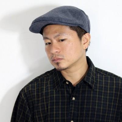 秋 冬 DAKS ハンチング ウール シンプル 帽子 ハンチング帽 日本製 ダックス メンズ レディース グレー