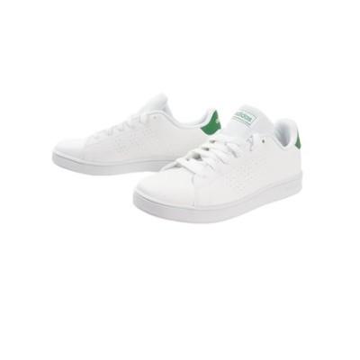 アディダス(adidas)アドヴァンコート スニーカー EF0213 ホワイト 白