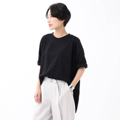 アンタイトル UNTITLED 【WEB限定】ハイゲージプレミアム天竺ビックTシャツ (ブラック)