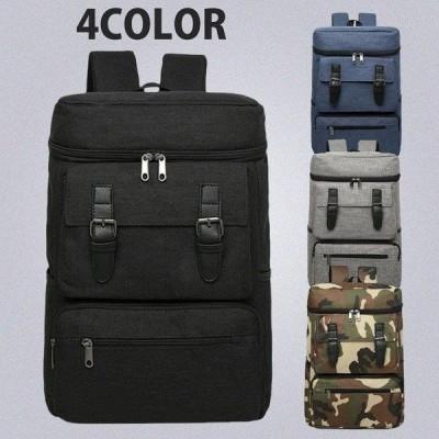 リュック リュックサック メンズ レディース 人気 高校生 通学 バックバッグ 大容量 おしゃれ スクエア 4色選択可能
