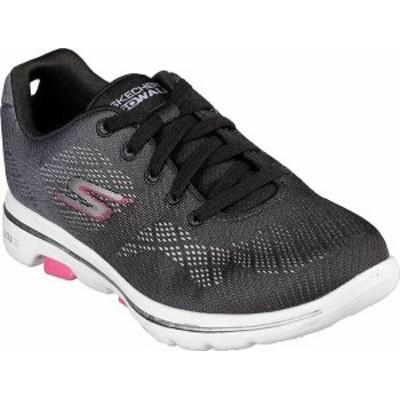 スケッチャーズ レディース スニーカー シューズ GOwalk 5 Alive Sneaker Black/Hot Pink