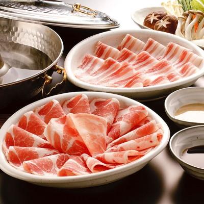 鹿児島「南州農場」黒豚しゃぶしゃぶセットNNF-3453N2 夏でも食べたいしゃぶしゃぶ