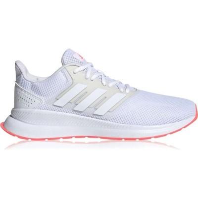 アディダス adidas レディース ランニング・ウォーキング シューズ・靴 Runfalcon Running Shoes White/Pink