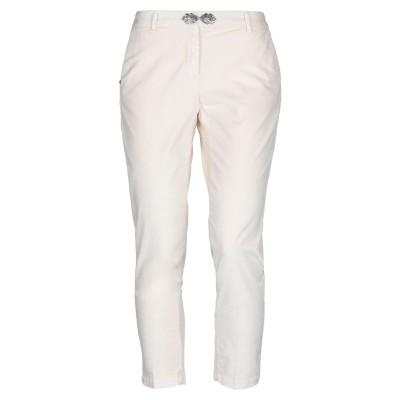 WHITE SAND 88 パンツ アイボリー 44 コットン 50% / レーヨン 47% / ポリウレタン 3% パンツ