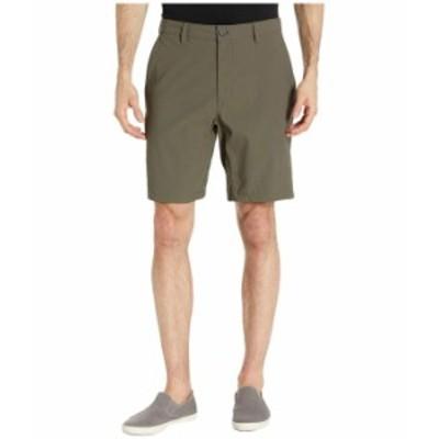 ノースフェイス メンズ ハーフパンツ・ショーツ ボトムス Sprag Shorts New Taupe Green