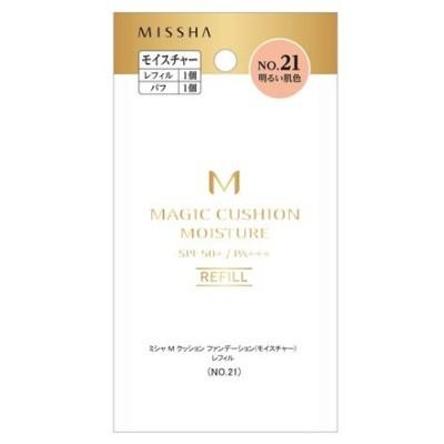 MISSHA (ミシャ) M クッション ファンデーション(モイスチャー)(レフィル No.21 明るい肌色) ファンデーション