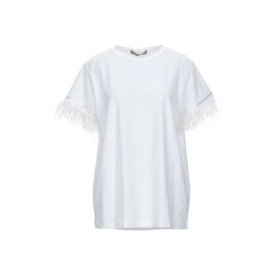D.EXTERIOR T シャツ ホワイト L コットン 91% / ポリウレタン 9% T シャツ