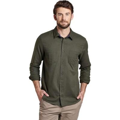 トードアンドコー Toad & Co メンズ シャツ トップス Flannagan LS Shirt Rustic Olive Heather