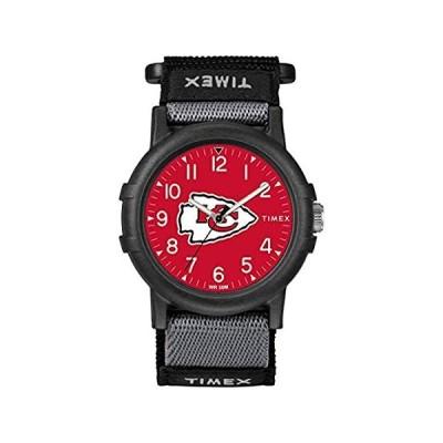 新品・送料無料Timex ユース TWZFCHIYA NFL リクルート カンザスシティ チーフス 腕時計[並輸51]